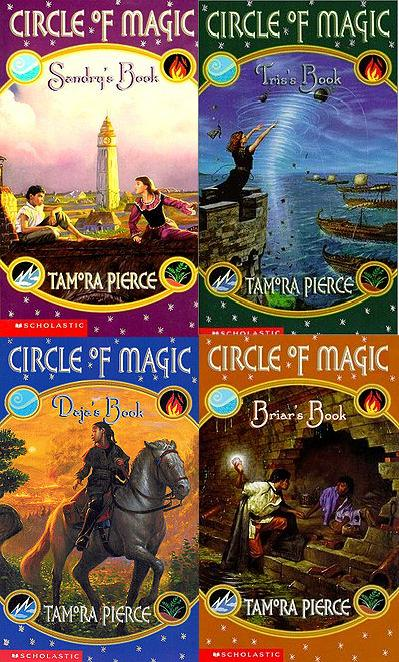Circle of Magic – Books 2, 3, and 4