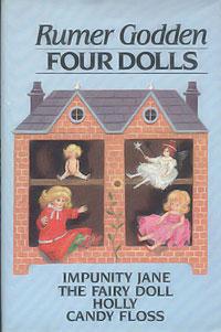 Four Dolls: Impunity Jane, Fairy Doll, Holly & Ivy, Candy Floss