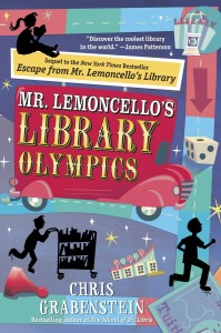 Children's Book: Mr. Lemoncello's library olympics