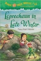 Children's book - Leprechaun in Late Winter